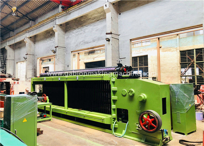 25r/Min Speed Gabion Machine With Automatic Straightening / Cutting System